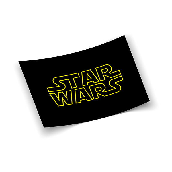 Наклейка Star Wars logo